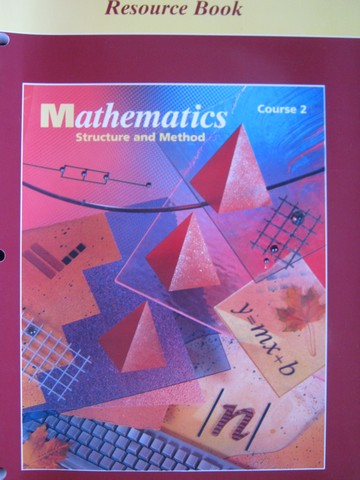 Mathematics Structure & Method Course 2 Resource Book (P)
