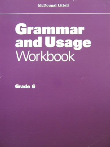 Grammar & Usage 6 Workbook (P)
