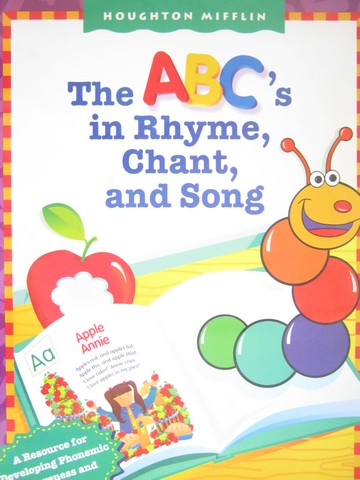 ABC's in Rhyme Chant & Song Level 1 (Spiral)(Big)