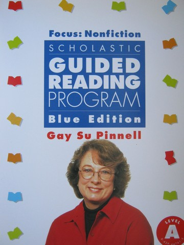 Scholastic Guided Reading Program Level A Blue Edition (PK)