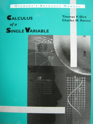 Calculus of a Single Variable Student's Resource Manual (P)