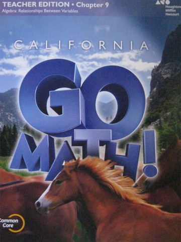 California Go Math! 6 Common Core TE Chapter 9 (CA)(TE)(P)