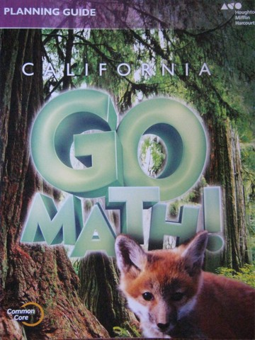 California Go Math! 3 Common Core Planning Guide (CA)(P)