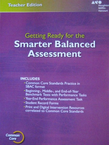 Getting Ready for the Smarter Balanced Assessment 3 TE (TE)(P)