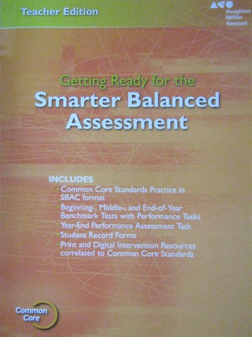 Getting Ready for the Smarter Balanced Assessment 5 TE (TE)(P)