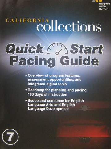 Collections 7 Quick Start Pacing Guide (CA)(P)