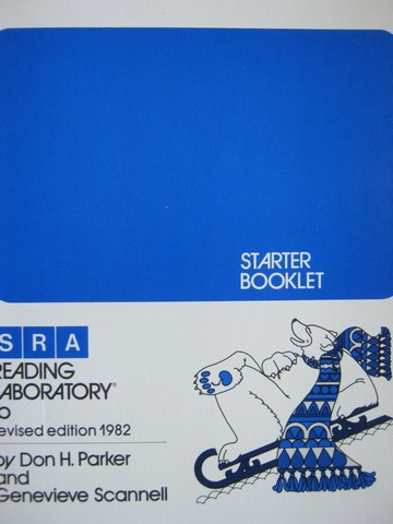 SRA Reading Laboratory 1b Revised Starter Booklet (P) by Parker