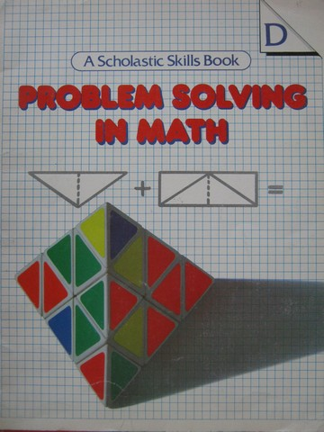 Problem Solving in Math Book D (P) by Linda Jensen Sheffield