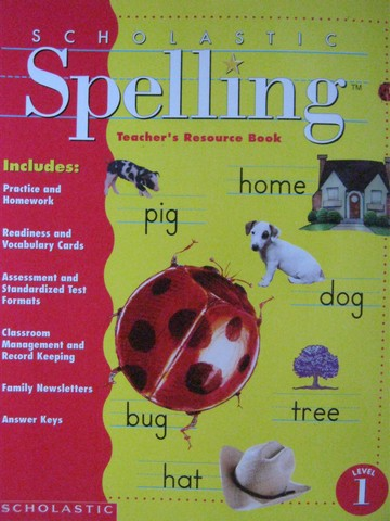 Scholastic Spelling 1 TRB (TE)(P) by Moats & Foorman