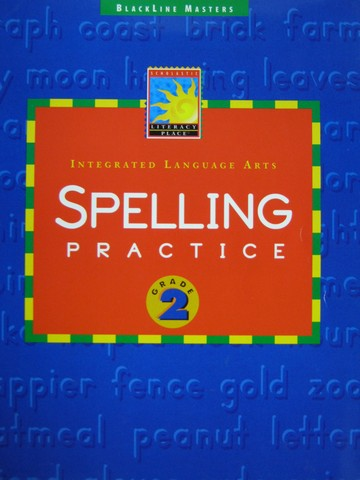 Literacy Place 2 Spelling Practice BLM (P) - Click Image to Close