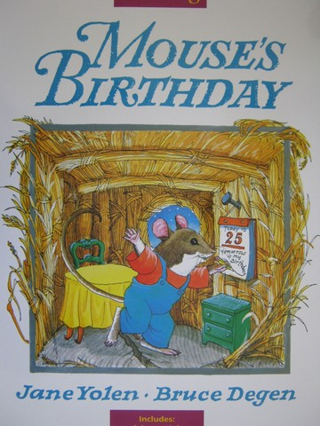 Reading K Mouse's Birthday (P)(Big) by Jane Yolen