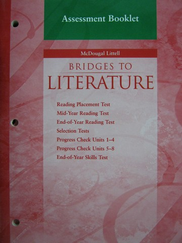 Bridges to Literature Level 2 Assessment Booklet (P)