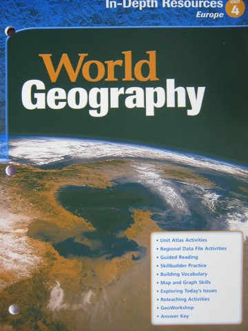 World Geography In-Depth Resources Unit 4 (P)