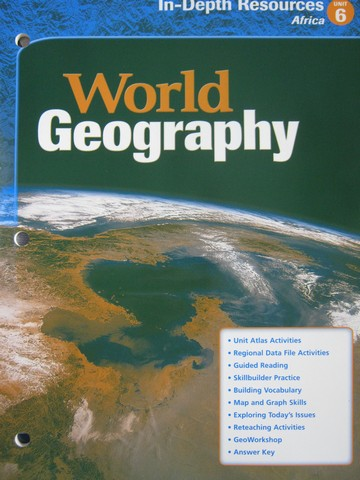 World Geography In-Depth Resources Unit 6 (P)
