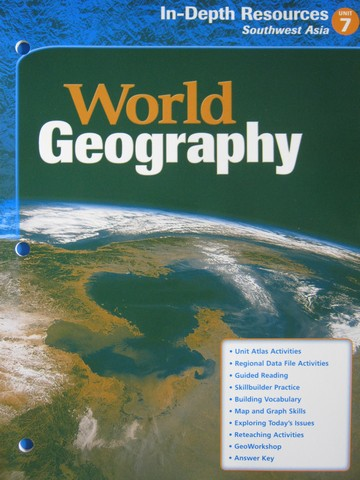 World Geography In-Depth Resources Unit 7 (P)