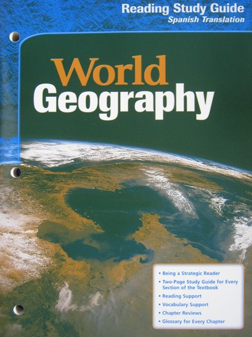 World Geography Reading Study Guide Spanish Translation (P)