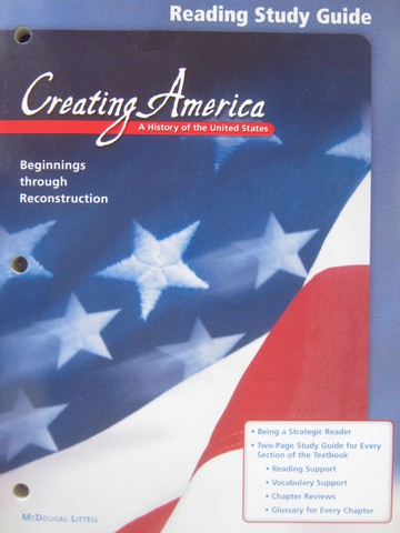 Creating America Reading Study Guide (P)