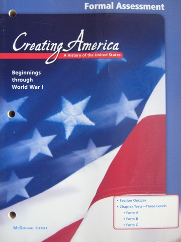 Creating America Formal Assessment (P)