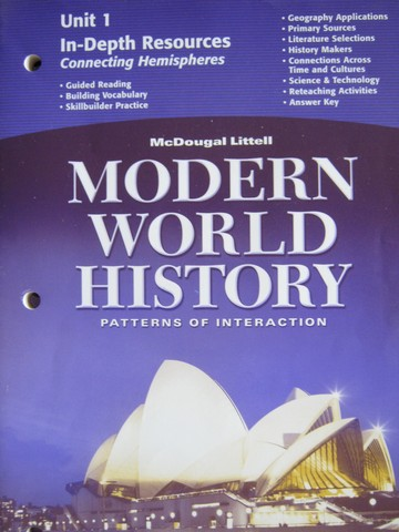 Modern World History In-Depth Resources Unit 1 (P)