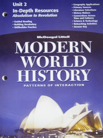 Modern World History In-Depth Resources Unit 2 (P)