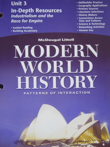 Modern World History In-Depth Resources Unit 3 (P)