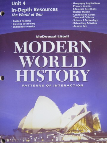 Modern World History In-Depth Resources Unit 4 (P)