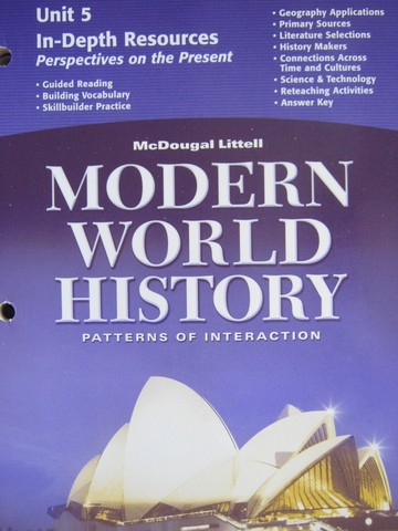 Modern World History In-Depth Resources Unit 5 (P)
