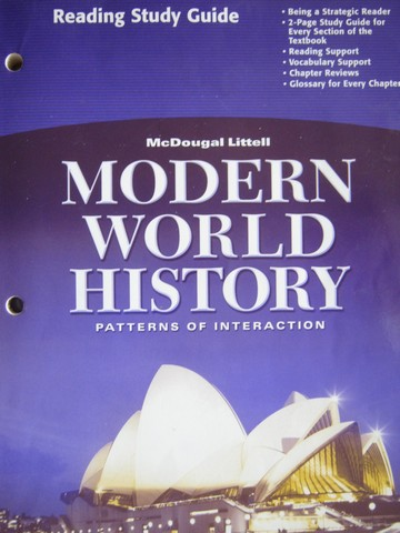 Modern World History Reading Study Guide (P) [0618409912