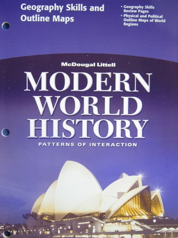Modern World History Geography Skills & Outline Maps (P)