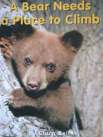 A Bear Needs a Place to Climb (P) by Clara Reiff