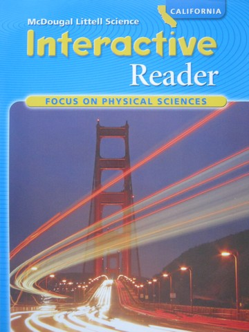 Focus on Physical Sciences Interactive Reader (CA)(P)