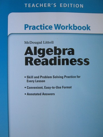 Algebra Readiness Practice Workbook TE (TE)(P)
