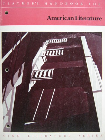 American Literature Teacher's Handbook (TE)(P) by Porter, Jr.,