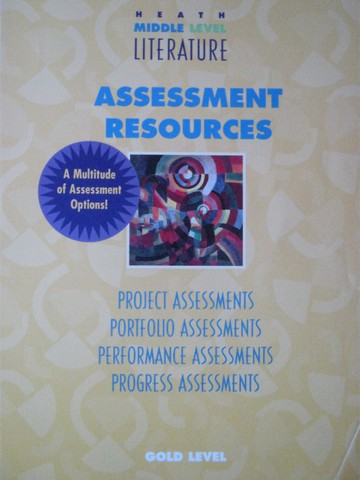 Heath Middle Level Literature Gold Assessment Resources (P)