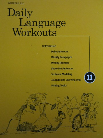 Writers Inc 11 Daily Language Workouts (Spiral) by Sebranek,