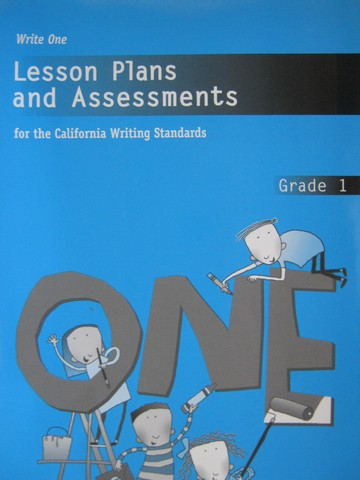 Write One 1 Lesson Plans & Assessments (CA)(P) by Hoff, Los,