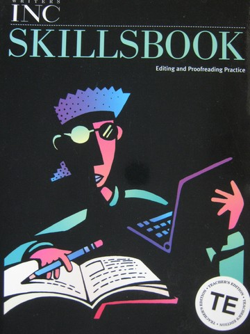 Writers Inc 12 Skillsbook ATE (TE)(P) by Sebranek & Kemper