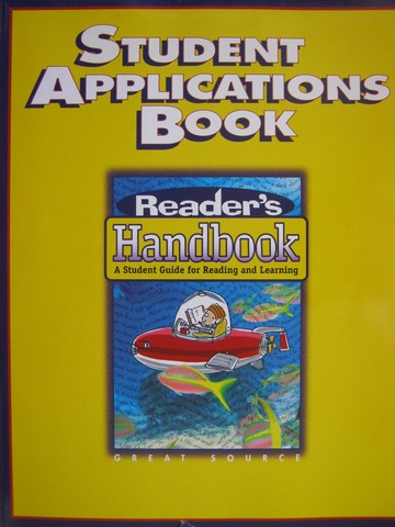 Reader's Handbook 5 Student Applications Book (P) by Robb,