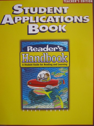 Reader's Handbook 5 Student Applications Book TE (TE)(P)