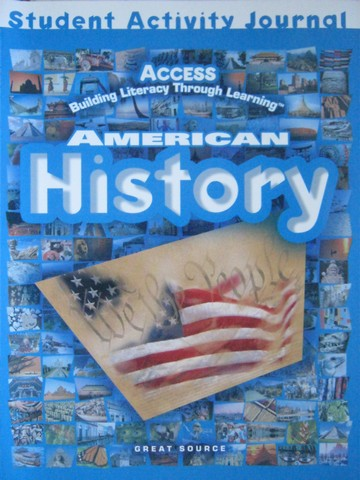 Access American History Student Activity Journal (P) by Duran,