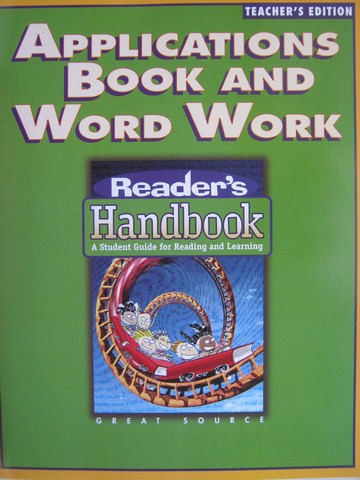 Reader's Handbook 3 Applications Book & Word Work TE (TE)(P)