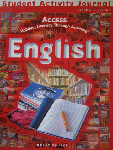 Access English Student Activity Journal TE (TE)(P) by Duran,