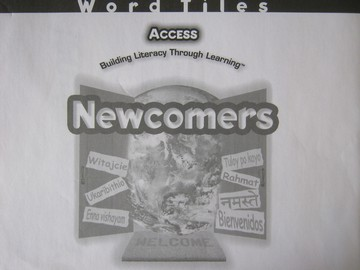 Access Newcomers Word Tiles (Pk) by Duran, Gusman, & Shefelbine