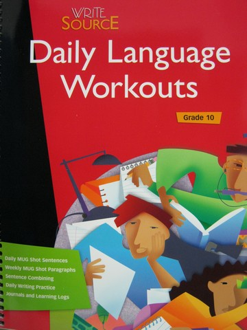 Write Source 10 Daily Language Workouts (Spiral)