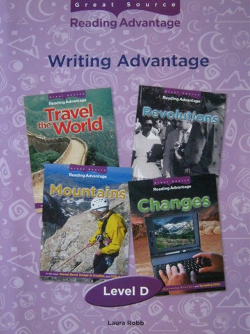 Reading Advantage D Writing Advantage (P) by Laura Robb