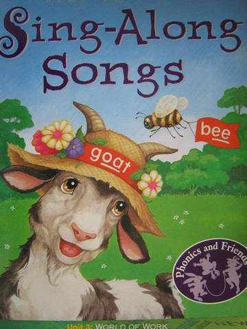 Phonics & Friends Level C Sing-Along Songs (P)(Big)