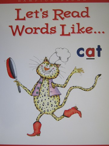Phonics & Friends Level B Let's Read Words Like Cat (P)(Big)