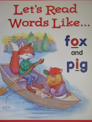 Phonics & Friends Level B Let's Read Words Like Fox (P)(Big)