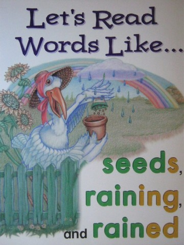 Phonics & Friends Level C Let's Read Words Like Seeds (P)(Big)