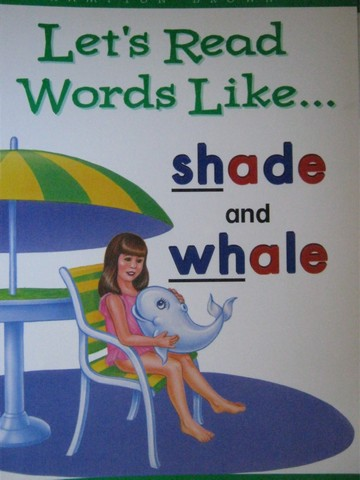 Phonics & Friends Level D Let's Read Words Like Shade (P)(Big)